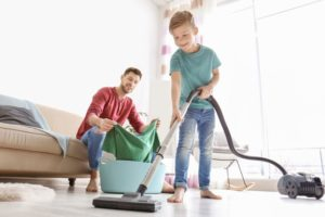 4 Tips For Keeping Your Home Clean With Kids